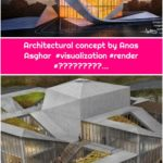 Architectural concept by Anas Asghar #visualization #render #архитекту...