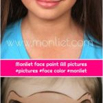 Monliet face paint All pictures #pictures #face color #monliet