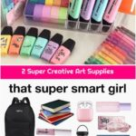 2 Super Creative Art Supplies