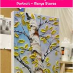 Jessica Miller Painting: Half Hour Portrait - Merys Stores