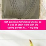 Not exactly a Christmas Gnome, as it was at Stein Mart with the Spring garden it ... - My Blog