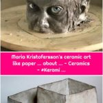 Maria Kristofersson's ceramic art like paper ... about ... - Ceramics - #Kerami ...