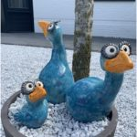 Happy blue birds - keramik ideen - #Birds #Blue #happy #Ideen #Keramik