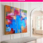 Abstract Oil Painting Original Large Oversize Painting Office Painting Colorful Painting Blue Painting Abstract Oil Painting On Canvas