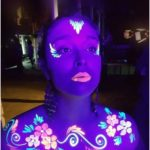 Neon body paint - Neon body paint - #Body #BodyArt #BodyPaintArt #BodyPainting...
