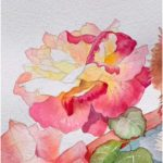 Flower Painting Flower Watercolor