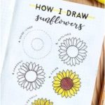 17 amazing step-by-step flower doodles for bujo addicts - Crazy Laura