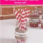 Just My Type - Paper Straws With their candy-cane stripe these cute straws add ...