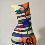 torso - ceramic torso - ceramic sculpture - ceramic art - body - female body - Inna Olshansky