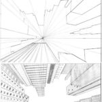 Draw Pattern - tutorial city in perspective 2 by ~lamorghana on deviantART... - CoDesign Magazine | Daily-updated Magazine celebrating creative talent from around the world