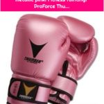 ProForce Thunder boxing gloves in metallic pink! Fitness fainting! ProForce Thu...