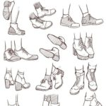 Shoes Reference Sheet 2 #clothesdrawing Shoes Reference Sheet 2