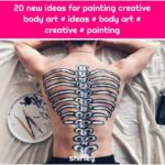 20 new ideas for painting creative body art # ideas # body art # creative # painting