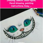 Drawing; Sketch; Stick figure; Pencil drawing, painting instructions; Easy ...