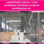 LocHal Public Library | Civic Architects | Archinect #cultural #architecture #d...