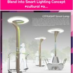 Street Lamp and Fitness Equipment Blend Into Smart Lighting Concept #cultural #a...