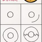 Learn how to paint a sweet donut step by step ♥ v…