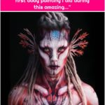 """Simone Gammino on Instagram: """"AMPHIBIAN ALIEN - AXOLOTL [Freely inspired by the movie """"Valerian""""] One more pic of the first body painting I did during this amazing…"""""""