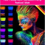 Glow in The Dark Neon UV Bright Face & Body Paint Fluorescent Party Festival | Wish