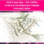 bird's-eye view - Pin Coffee #cultural #architecture #design #concept #plan