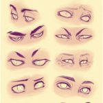 art, cartoon, disney, drawing, eyes, reference, tutorial, itslopez, drawing refe...