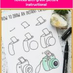 Great doodle mode for the best of novices with great picture instructions!