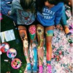 Body Art Painting Legs Tumblr 40 Ideas