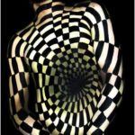 Body painting with an optical illusion signed Natalie Fletcher #bodypaint ...