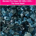 Fire Pit Essentials 10 lbs. of Kenai Blue 1/4 in. Reflective Blended Fire Glass-HD-QMLI-G5YL - The Home Depot