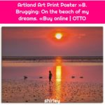 Artland Art Print Poster »B. Brugging: On the beach of my dreams. «Buy online | OTTO