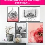 Islam decoration islamic wallart islamicquotes istanbul blue mosque blue mosque ...