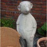 Concrete figure, figures made of concrete, concrete course, garden decoration, concrete workshop,