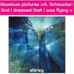 Aluminum pictures »A. Schmucker: And I dreamed that I was flying «