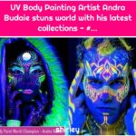 UV Body Painting Artist Andra Budaie stuns world with his latest collections - #...