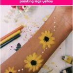 22 Super ideas for body art painting legs yellow