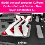Model concept program Cultural Center-Cultural Center – New layer penetrates t...