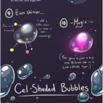 paint underwater bubbles on SAI painting tool from Electrical-Socket ... on @devian ...