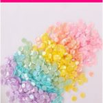 Milky Rainbow Sequin Mix packet Milky Rainbow Sequin Mix packet pocket letters ...