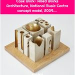 Case Work- Allied Works Architecture, National Music Centre concept model, 2009....