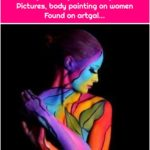 Body Painting, Art Gallery, Art Pictures, body painting on women Found on artgal...